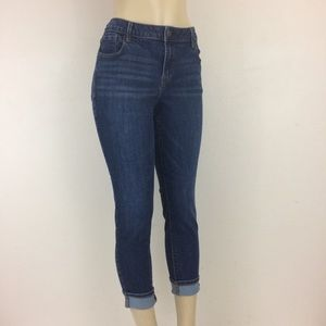 Old Navy Jeans 14 Short Rock Star Mid Rise Stretch